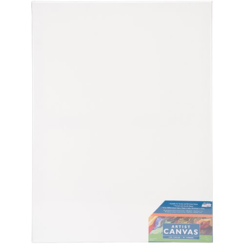 """Pro Art Stretched Artist Canvas Twin Pack 2/Pkg-18""""X24"""""""