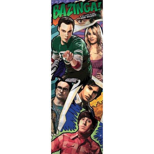 The Big Bang Theory Comic Door Poster