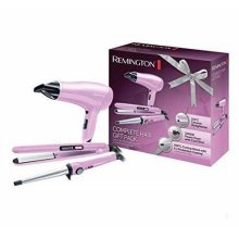 Remington Complete Hair Gift Pack Green 2000W - 3 Heat and 2 Speed (CI52W1GP)