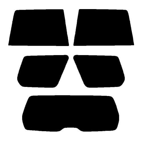 Pre cut window tint - Subaru Forester Estate - 2006 to 2008 - Rear windows