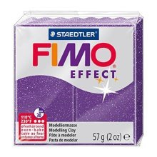 Staedtler - Fimo effect 57g, Glitter Purple