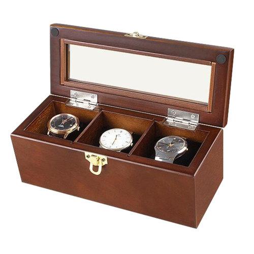 Wooden Jewelry Box-Luxury Watch Box  Bracelet Display Case-A1