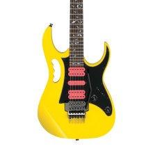 Ibanez Ltd Edition JEMJR Steve Vai Signature Electric Guitar, Yellow