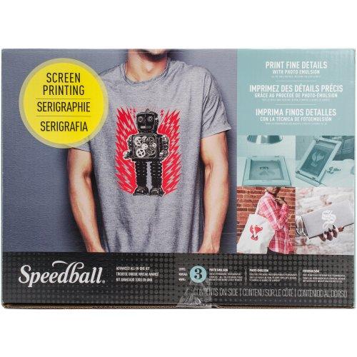 Speedball Ultimate Diazo Fabric Screen Printing Kit-Advanced All-In-One Kit FOB: MI