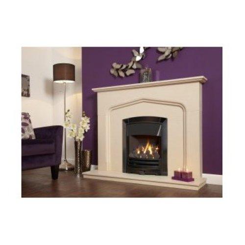 Designer Fire - Flavel FKPCDNRN2 Black Nickel Decadence Plus Gas Fire - RC