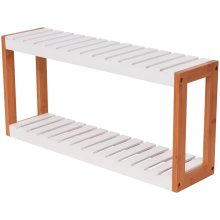 vidaXL Bathroom Shelf Bamboo 60x15x28.5 cm