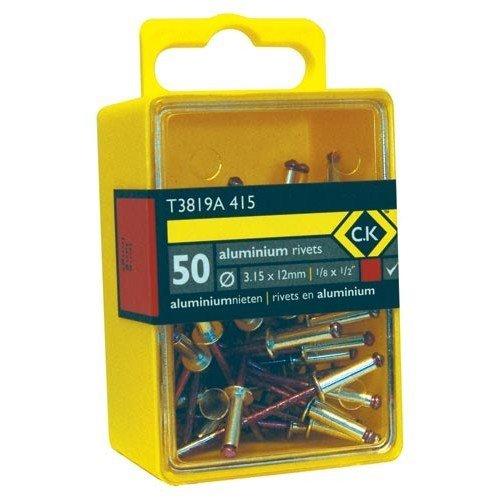 CK T3819A 620 Pop Rivets Aluminium 4.8x16mm Box Of 40