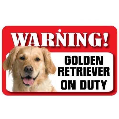 Golden Retriever Pet Sign
