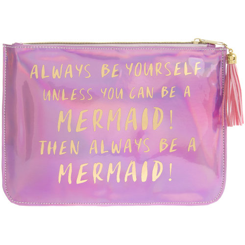 Mermaid shimmer pouch
