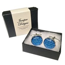 Best Dad Dictionary Style cufflinks - Great Birthday, Father's Day or Christmas gift