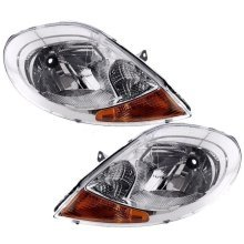 Vauxhall Vivaro 2006-2015 Headlights Headlamps 1 Pair O/s & N/s