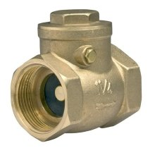 "1/2"" 3/4"" 1"" Swing Clack Non-return Check Valve Brass One-way Valves"