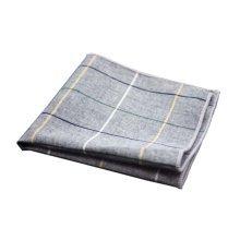 2 Pieces Of Cotton Hand Towel Handkerchief Pocket Towel, Lattice