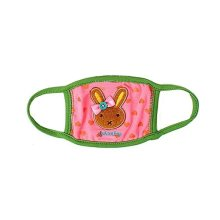 Children's Mask For Windproof, Dustproof, Breathable Masks (Pink Rabbit)