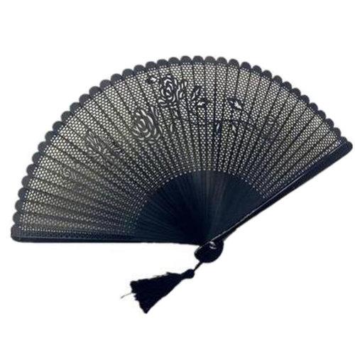 Oriental Beautiful Folding Hand Fan Handheld Fan Perfect Gift, P