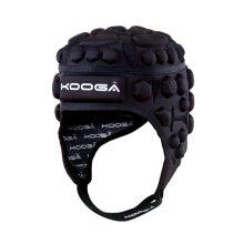 Kooga Airtech Loop Ii Head Guard - Black/grey, Large - Head Boys Sporting -  kooga airtech loop ii headguard large boys sporting protection