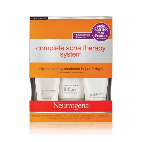 Neutrogena Complete Acne Therapy System