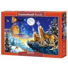 Csc103317 - Castorland Jigsaw 1000 Pc - Howling Wolves