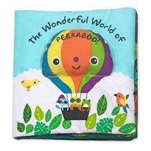 Melissa & Doug Soft Activity Baby Book - The Wonderful World of Peekaboo
