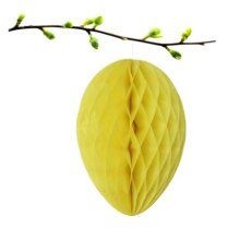 Easter Decoration Children's Party Decorations Easter Eggs Decorations[Yellow]