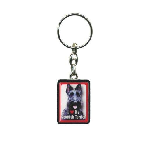 Scottish Terrier Dog Keyring