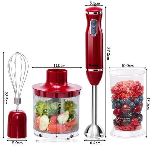 3 in 1 Hand Blender Food Mixer Processor