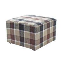 Fashionable Square Cloth Modern Small Stool Table Stool Sofa Pier Ottoman Stool, A