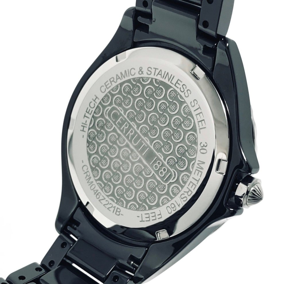 ceramic watches black diamond womens hand women s xupes details product chanel second ladies