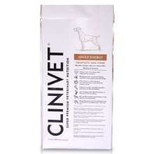 Clinivet Adult Energy Natural Dry Hypoallergenic Dog Food 15kg