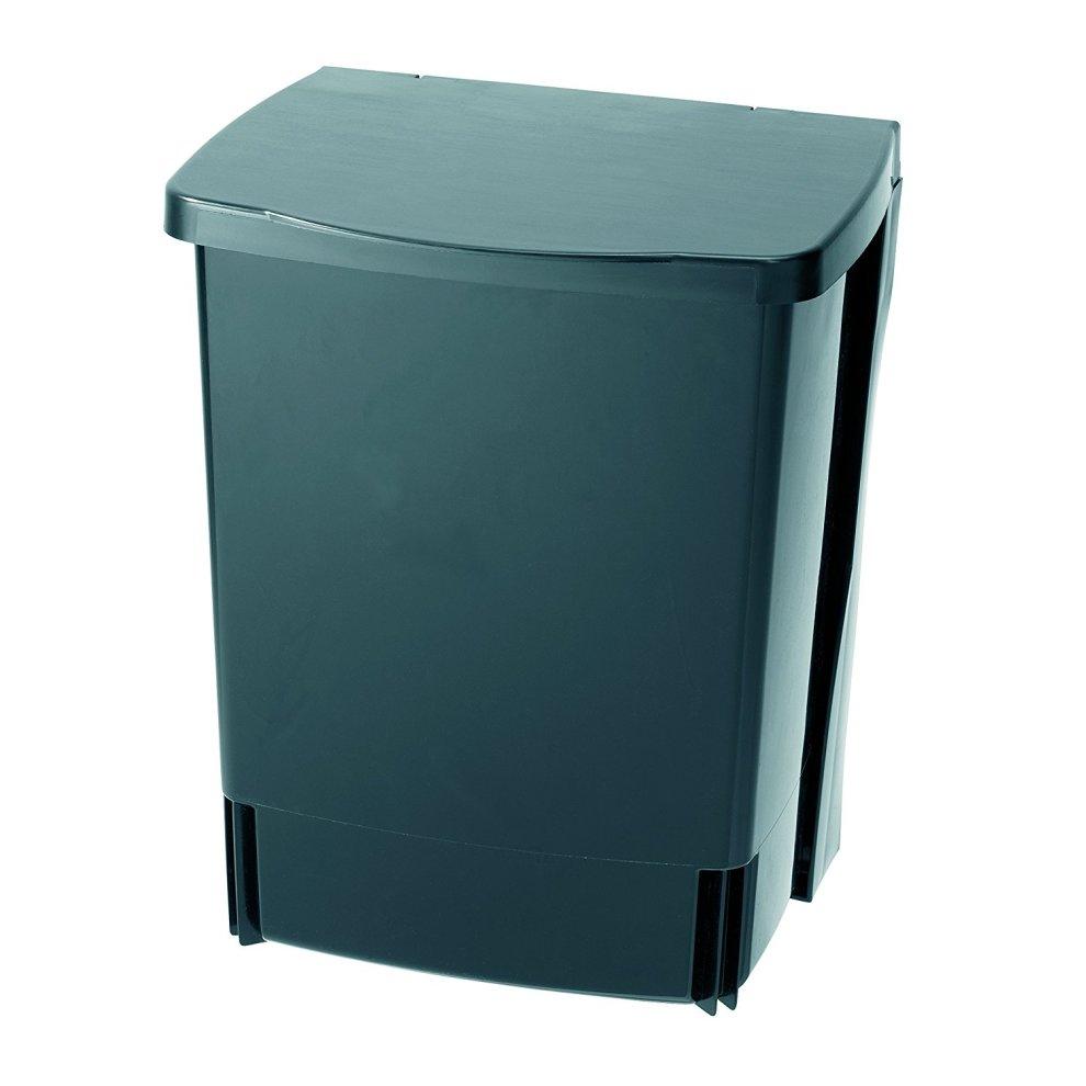 Brabantia Built In Under Cupboard Kitchen Waste Bin 10 L Black 1