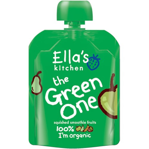 Ellas Kitchen Smoothie Fruit - the Green One Multipack 90g
