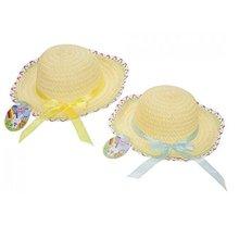 Easter Bonnet - Arts Craft Hat Ribbon Summer Egg Hunt -  bonnet easter arts craft hat ribbon summer egg hunt