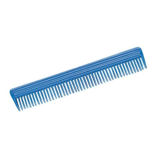 Weaver Leather Plastic Animal Comb, Blue, 9-Inch