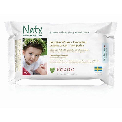 Nature Baby  Sensitive Wipes - Unscented 390g