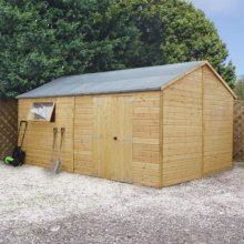 16x10 - Premium Reverse Shiplap T&g-Workshop