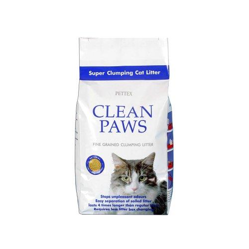 Pettex Clean Paws Super Clumping Ultra Cat Litter 15 kg