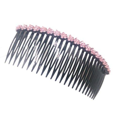 Jewelry Card Edge Rhinestone Hair Accessories Hairpin Comb  Bangs Chuck Top