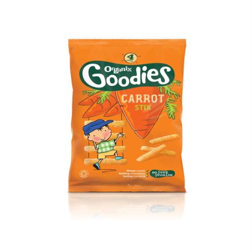 Organix Goodies Carrot Stix Multipack 4 X 15g