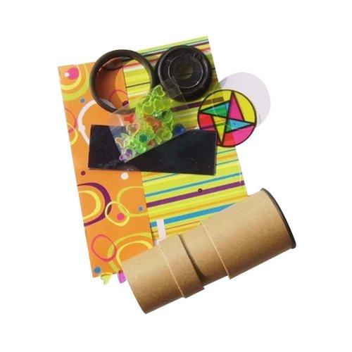 Choking Harzard, 5Pcs Kids Science Exploration Toy Fun DIY Kaleidoscope Prism