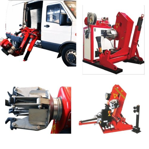 HGV and PSV 26 Inch Mobile Tyre Changing Machine