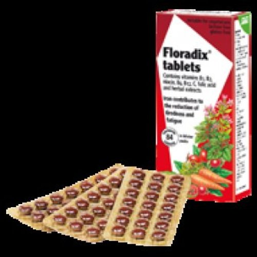 Floradix - Tablets Iron and Vitamin 84 Vtabs