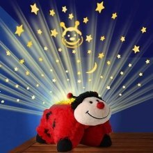 Pillow Pets Dream Lites - Ms Lady Bug