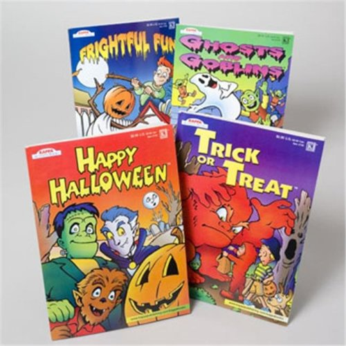 RGP 73000F Coloring Book Halloween 2 Assorted 96 Pages In Floor Display - Pack Of 120