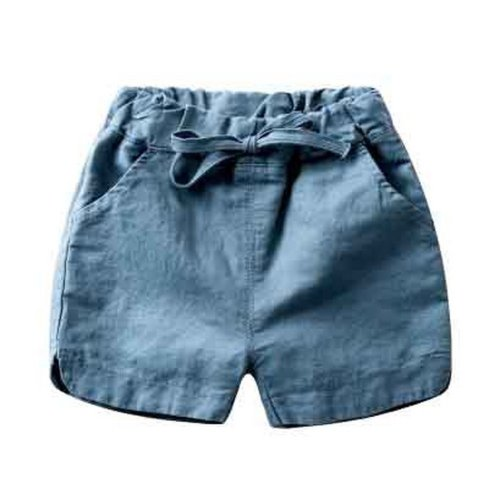 Baby Boy Short Pants Cute Short Pants for Summer Suitable for 130cm [I]