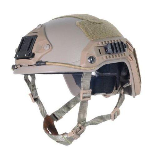 Airsoft Ops Core Tan Sand De Swat  Maritime Fma Abs Helmet Jump Rail L/Xl