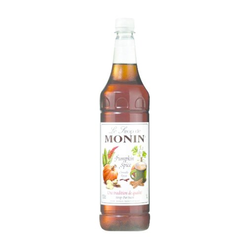 Monin Pumpkin Spice Coffee Syrup 1 Litre (plastic)