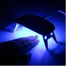 100-240V Mini UV LED Lamp
