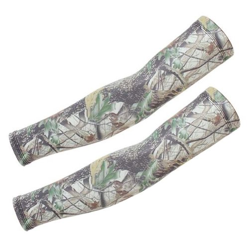 Camouflage Ice Silk Sleeves,Sun Protection,Riding,Fishing,Arm Guard,A10
