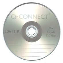 Q-CONNECT DVD-R CAKEBOX PK25