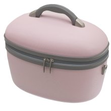 Baby Pink Vanity Case Make Up Cosmetic Case